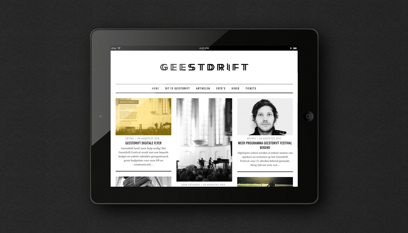 ipad-website-Geestdrift